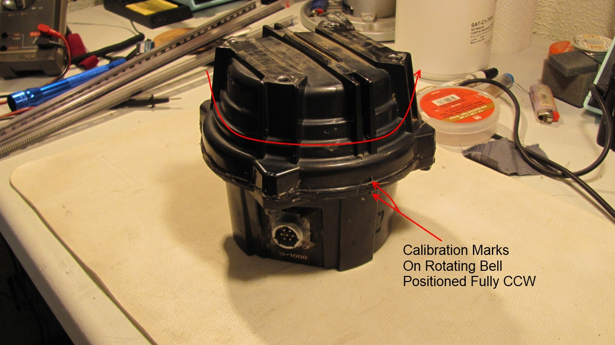 hight resolution of step 1 operate the rotor to it s fully ccw position