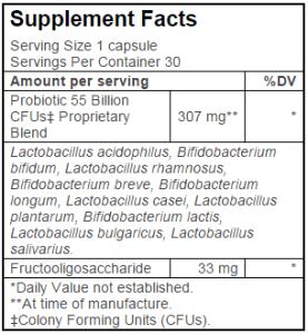 probio facts 277x300 - Probiotic 55 Billion