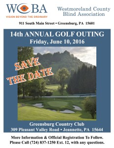 Golf Fundraiser Flyer