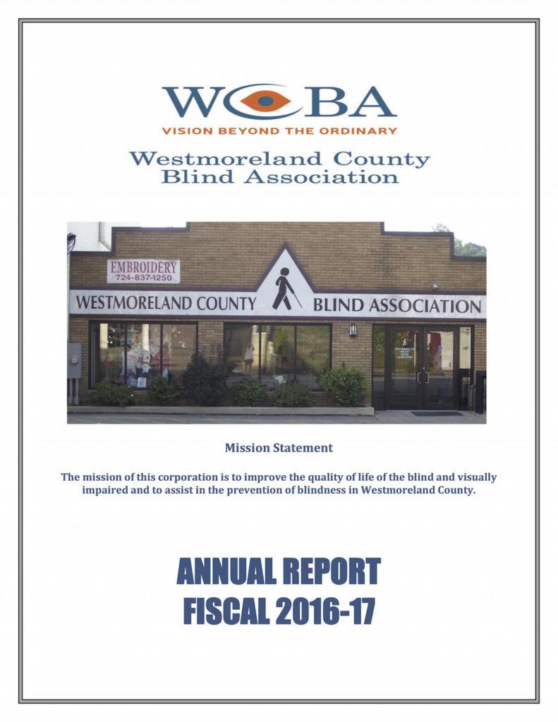 2016-2017 WCBA Annual Report