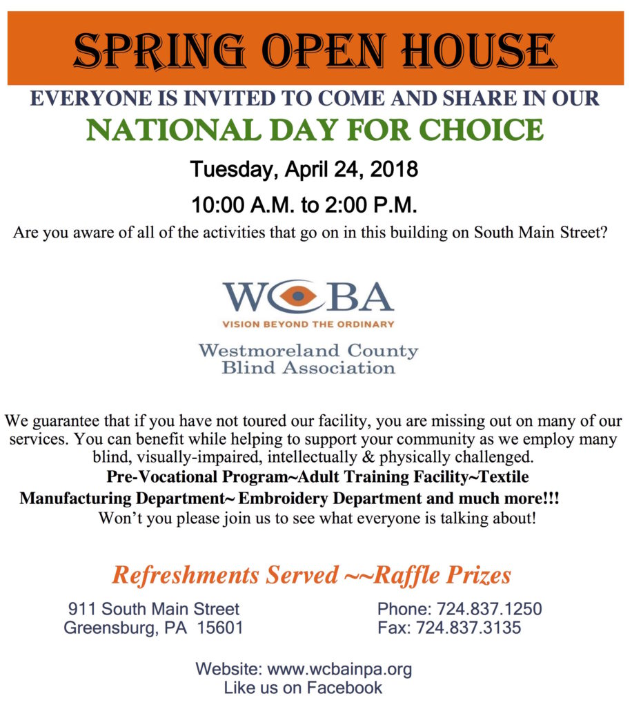Click to download the National Day of Choice Open House Invitation