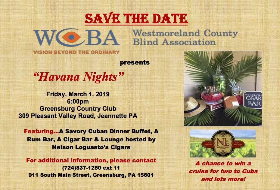 2019 WCBA Spring Gala save the date.