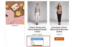Display WooCommerce Product Variations Dropdown On The Shop Page