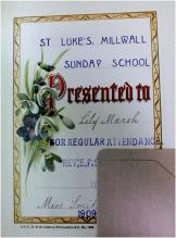 Presentation bookplate - St Luke's, Millwall
