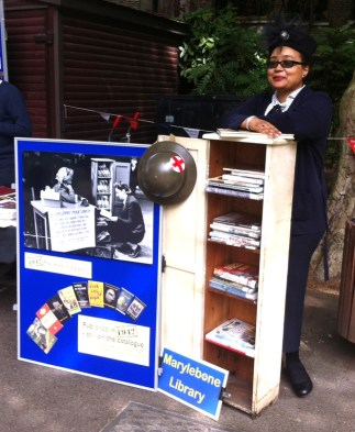 Marylebone Library in the Park 2015 - Sabina