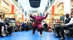 Chinese New Year at Charing Cross Library, February 2016