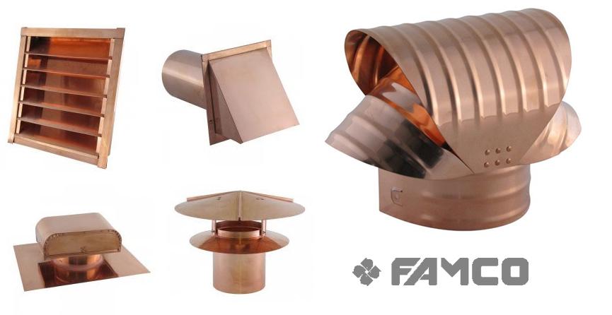 Copper Vent Caps Look Great