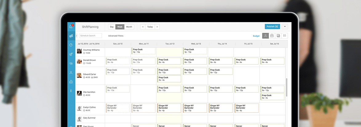 overlapping schedule maker