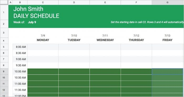 Below you'll find free employee schedule template downloads, as well as a guide on how to create an. Google Docs Employee Schedule Template Creating A Basic Schedule