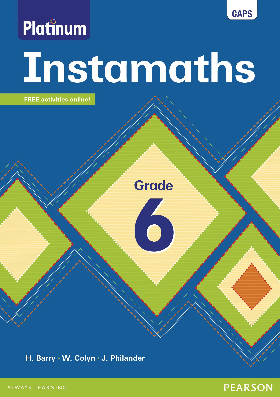 Instamaths Grade 6 Workbook Interactive Epub Perpetual