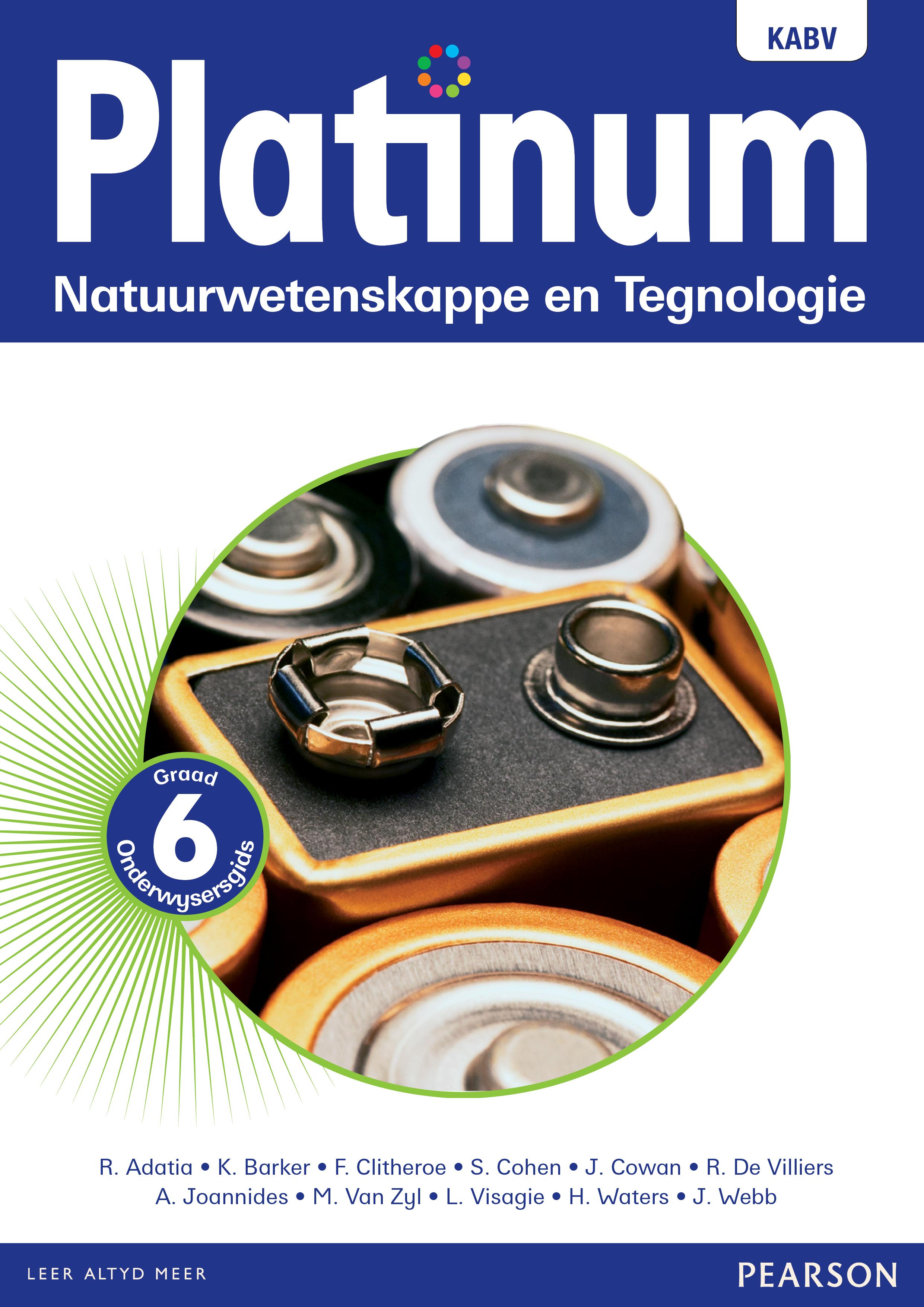 Platinum Natuurwetenskappe En Tegnologie Graad 6