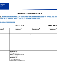 LIFE SKILLS: Grade 3 Term 3 Week 4 Lesson plan   WCED ePortal [ 746 x 1641 Pixel ]