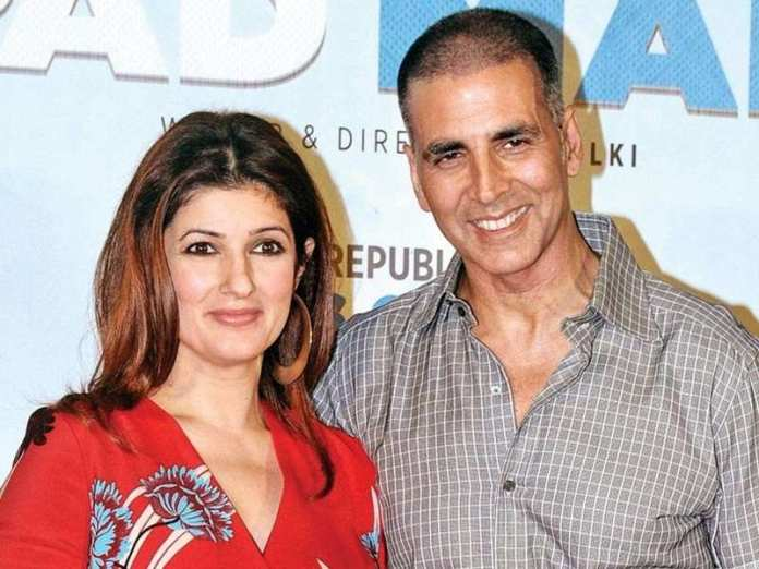 Akshay Kumar With His Wife Twinkle Khanna