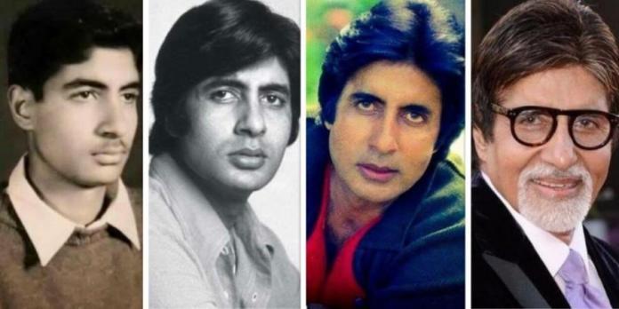 Earlier life of Amitabh Bachchan