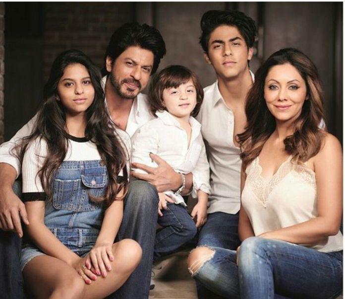 Shah Rukh Khan Family
