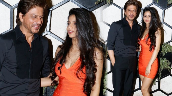 Shahrukh Khan With Daughter Suhana Khan