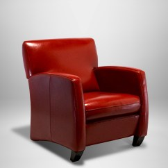 Red Lounge Chair Office Wheels India Leather West Coast Event Productions Inc