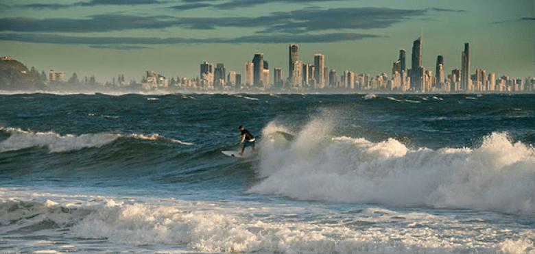 picos do mundial de surf - burleigh heads em Gold Coast