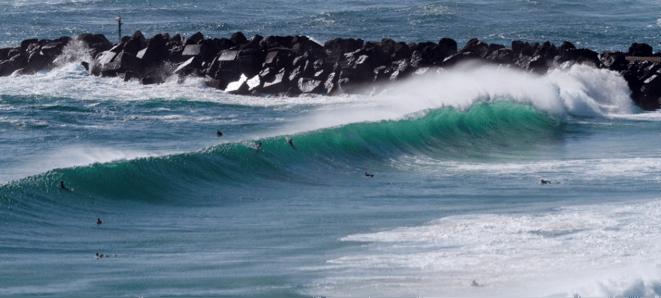 picos do mundial de surf - duranbah