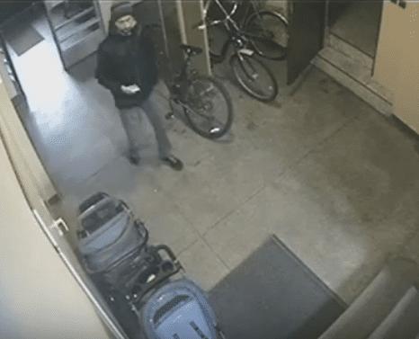 Kradzież roweru na ul. Wyspiańskiego – pomóż złapać złodzieja [FOTO]