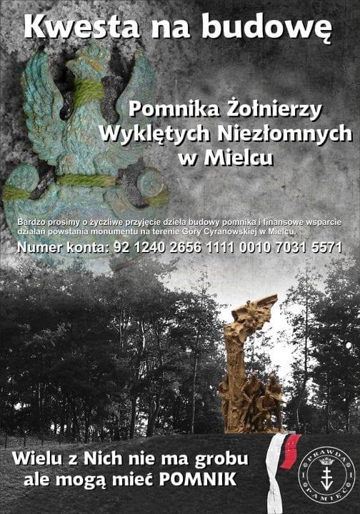 W Mielcu powstanie pomnik Żołnierzy Wyklętych? Trwa zbiórka