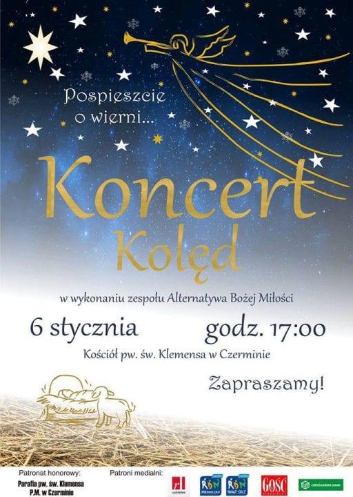 Już jutro koncert kolęd w Czerminie!