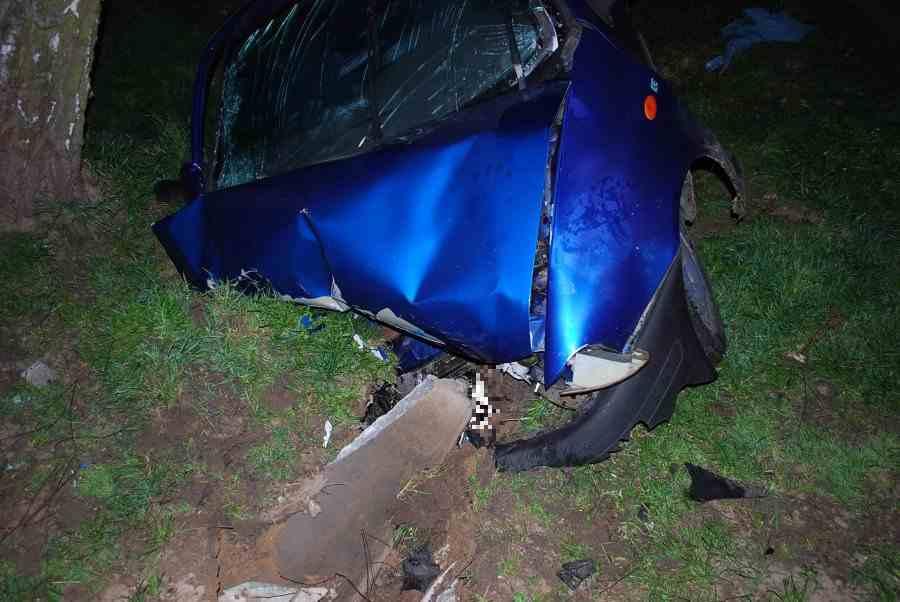 Areszt dla pijanego sprawcy wypadku w Wampierzowie