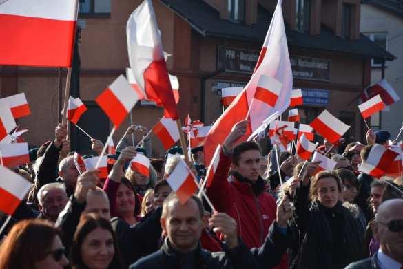 Niedzielne uroczystości 100 rocznicy odzyskania przez Polskę Niepodległości [FOTO, VIDEO]