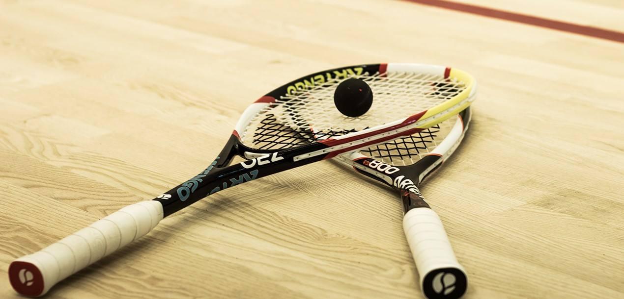 Turniej squasha w hotelu Atena