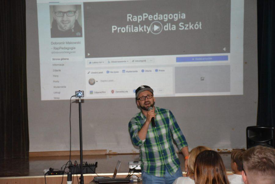 Dobromir Makowski RapPedagogia [FOTO, VIDEO]