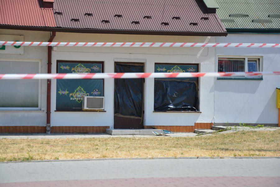 Napad na salon gier [FOTO]