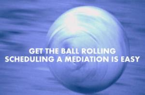 rolling ball blue