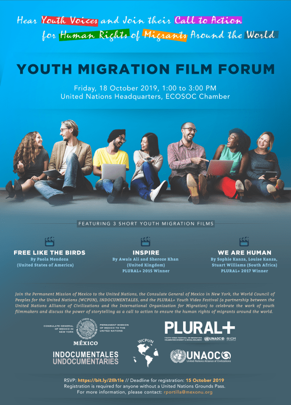 Youth Migration film and dialogue at the UN