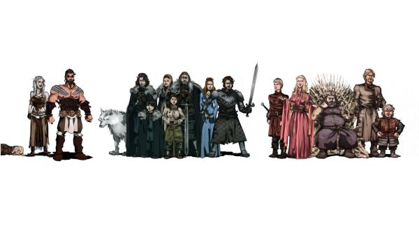 Game Of Thrones Book Characters Wallpaper Imgurl
