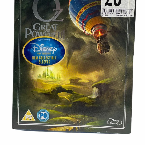 Oz The Great Powerful Cert (PG) New