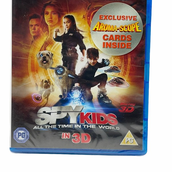 Spy Kids All The Time In The World In 3D Cert (PG) New