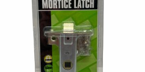 Nickle Plated Forend 63mm/21/2″ Mortice Latch 25601