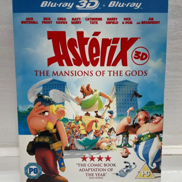Asterix The Mansions Of The Gods 3D Cert (PG) Used VG Condition