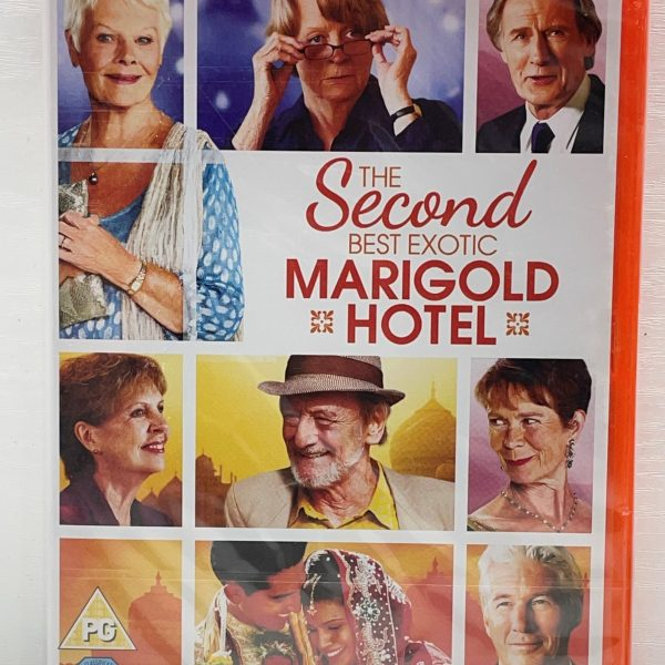 The Second Best Exotic Marigold Hotel Cert (PG) New