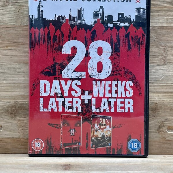 28 Days Later + Weeks Later Cert (18) Used VG