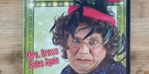 Mrs Browns Boys Live Mrs Brown Rides Again Cert (15) Used VG