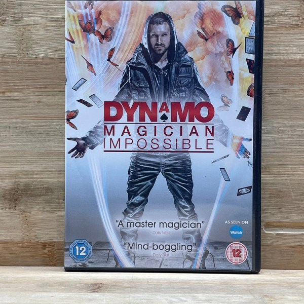 Dynamo Magician Impossible Cert (12) Used VG