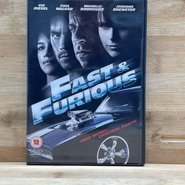 The Fast And The Furious Cert (15) Used VG