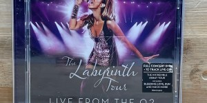 Leona Lewis CD+DVD The Labyrinth Tour Live At The 02 Cert (U) Used VG