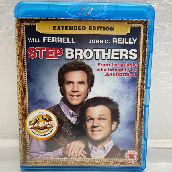 Step Brothers Extended Edition Cert (15) Used VG Condition