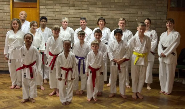 Weoley Castle Shotokan Students