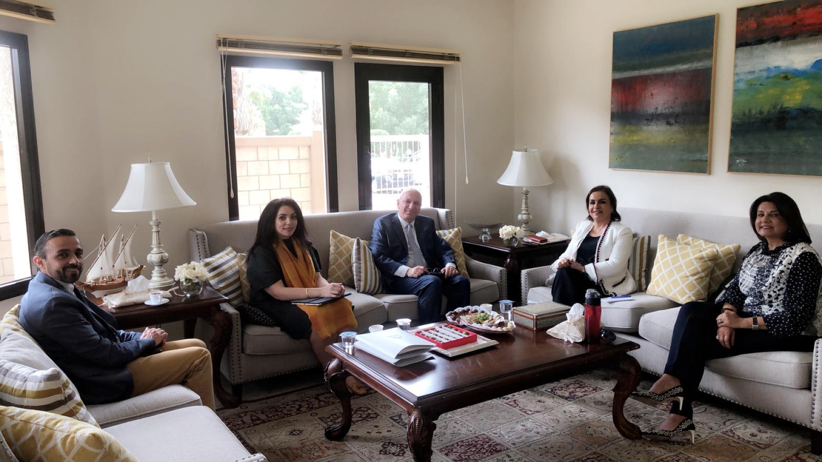 زياره ممثل البنك الدولي السيد/غسان الخوجة لمقر الجمعية
