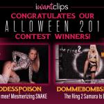 IWC halloween 2019 contest winners