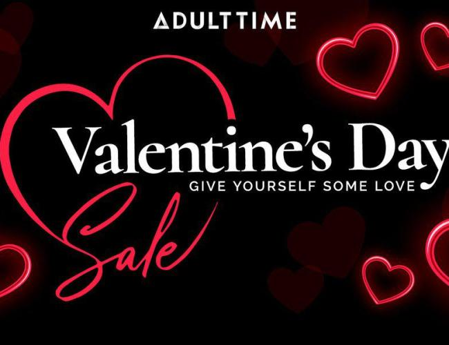 Adult Time's Valentine's Day Special Promotion 2020