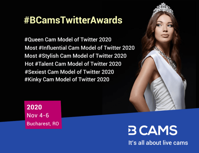 BCAMS Announces Queen Cam Model of Twitter 2020